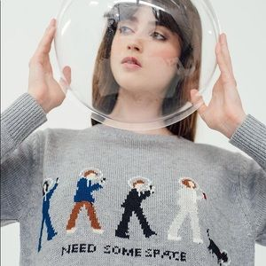 Miss Patina Need Some Space sweater